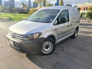 2016 Volkswagen Caddy 2KN MY17 TSI220 SWB DSG Grey 7 Speed Sports Automatic Dual Clutch Van.