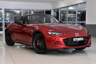 2021 Mazda MX-5 ND GT SKYACTIV-MT RS Red 6 Speed Manual Roadster.