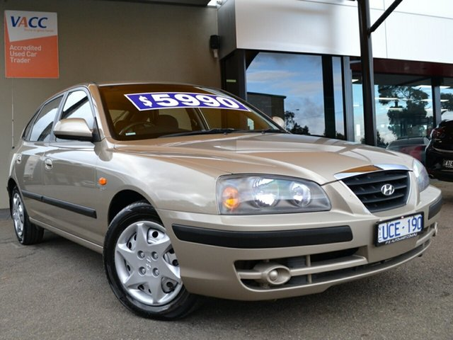 Used Hyundai Elantra XD MY05 FX Fawkner, 2005 Hyundai Elantra XD MY05 FX Gold 4 Speed Automatic Sedan
