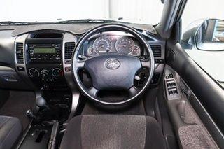 2005 Toyota Landcruiser Prado GRJ120R GXL Silver 6 Speed Manual Wagon