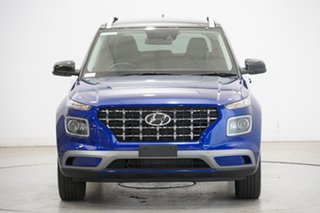2020 Hyundai Venue QX MY20 Elite Intense Blue 6 Speed Automatic Wagon.