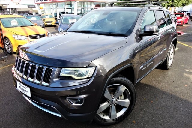 Used Jeep Grand Cherokee WK MY2014 Limited Seaford, 2013 Jeep Grand Cherokee WK MY2014 Limited Grey 8 Speed Sports Automatic Wagon