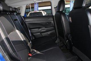 2015 Mitsubishi ASX XB MY15 XLS 2WD Blue 6 Speed Constant Variable Wagon
