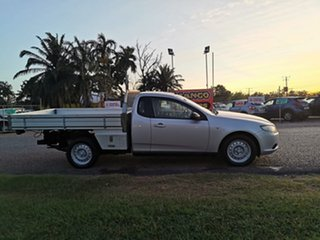 2010 Ford Falcon FG Super Cab Silver 5 Speed Sports Automatic Cab Chassis.