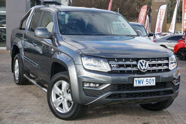 Used Volkswagen Amarok 2H MY18 TDI550 4MOTION Perm Highline Phillip, 2018 Volkswagen Amarok 2H MY18 TDI550 4MOTION Perm Highline Grey 8 Speed Automatic Utility