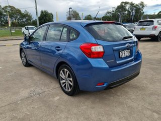 2016 Subaru Impreza G4 MY16 2.0i Lineartronic AWD Premium Blue 6 Speed Constant Variable Hatchback