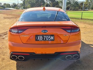 2021 Kia Stinger CK MY21 GT Fastback Neon Orange 8 Speed Sports Automatic Sedan