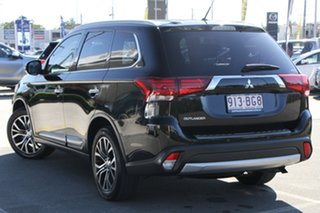 2016 Mitsubishi Outlander ZK MY16 Exceed 4WD Black 6 Speed Constant Variable Wagon.