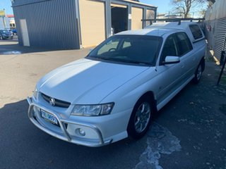 2006 Holden Crewman VZ MY06 S White 4 Speed Automatic Utility.