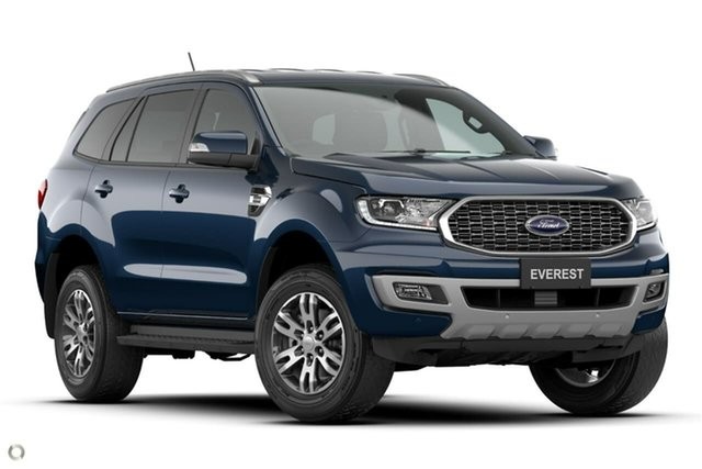 New Ford Everest UA II 2021.25MY Trend Oakleigh, 2021 Ford Everest UA II 2021.25MY Trend Blue 10 Speed Sports Automatic SUV