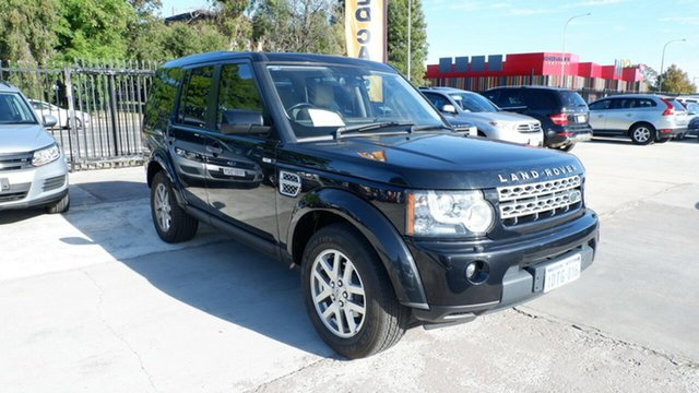 Used Land Rover Discovery 4 Series 4 MY11 TdV6 CommandShift St James, 2011 Land Rover Discovery 4 Series 4 MY11 TdV6 CommandShift Black 6 Speed Sports Automatic Wagon
