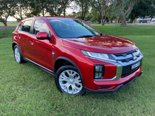 Pre-Owned Mitsubishi ASX XD MY20 LS 2WD South Grafton, 2019 Mitsubishi ASX XD MY20 LS 2WD Red 1 Speed Constant Variable Wagon