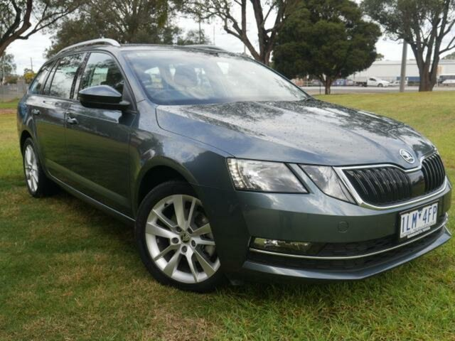 Used Skoda Octavia NE MY18 110 TSI Wangaratta, 2017 Skoda Octavia NE MY18 110 TSI Grey 7 Speed Auto Direct Shift Wagon