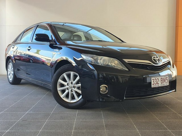Used Toyota Camry AHV40R Hybrid Luxury Brendale, 2011 Toyota Camry AHV40R Hybrid Luxury Black 1 Speed Constant Variable Sedan Hybrid