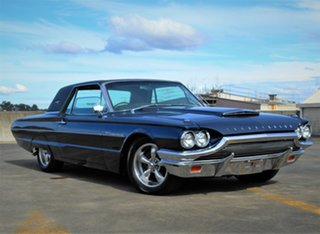 1964 Ford Thunderbird Blue 3 Speed Automatic Hardtop.