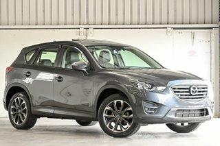 2016 Mazda CX-5 KE1022 Grand Touring SKYACTIV-Drive AWD Grey 6 Speed Sports Automatic Wagon.