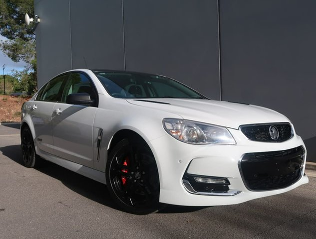 Used Holden Commodore VF II MY16 SS V Redline Reynella, 2016 Holden Commodore VF II MY16 SS V Redline White 6 Speed Sports Automatic Sedan