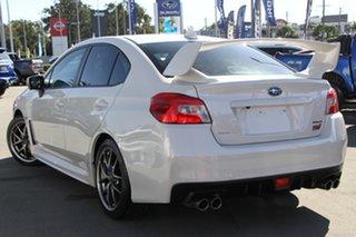 2016 Subaru WRX V1 MY17 STI AWD Premium White 6 Speed Manual Sedan.