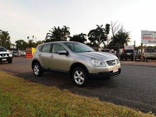 2010 Nissan Dualis J10 MY2009 ST Hatch Silver 6 Speed Manual Hatchback.