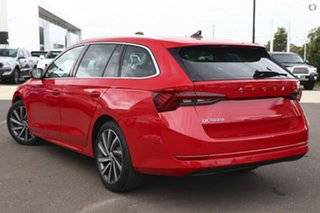 2021 Skoda Octavia NX MY21 110TSI Style Red 8 Speed Automatic Wagon