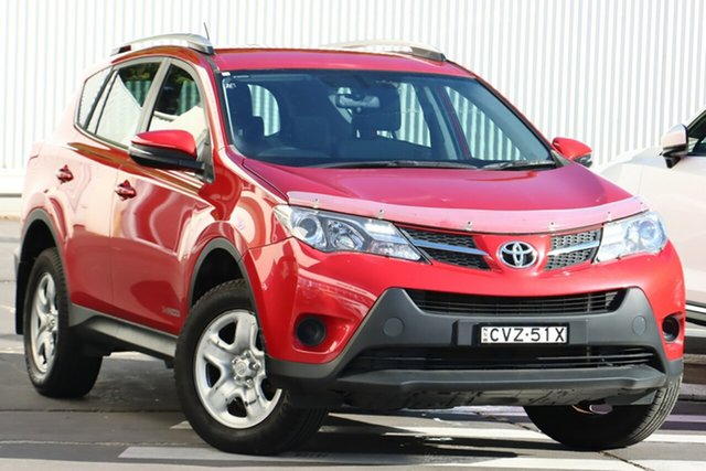 Used Toyota RAV4 ALA49R MY14 GX AWD Wollongong, 2014 Toyota RAV4 ALA49R MY14 GX AWD Barcelona Red 6 Speed Sports Automatic Wagon