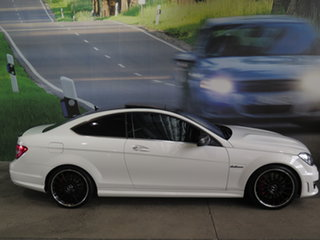 2013 Mercedes-Benz C63 W204 MY13 AMG Black Series White 7 Speed Automatic G-Tronic Coupe.