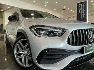 2020 Mercedes-Benz GLA-Class H247 801+051MY GLA35 AMG SPEEDSHIFT DCT 4MATIC Silver 8 Speed.
