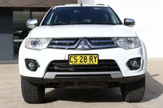 2013 Mitsubishi Challenger PC (KH) MY14 LS White 5 Speed Sports Automatic Wagon