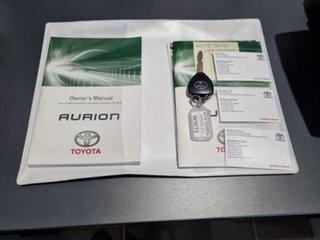 2014 Toyota Aurion GSV50R AT-X Diamond White 6 Speed Sports Automatic Sedan