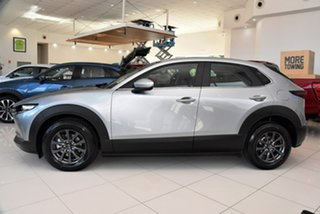 2021 Mazda CX-30 DM2W7A G20 SKYACTIV-Drive Pure Silver 6 Speed Sports Automatic Wagon
