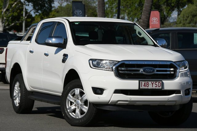 Used Ford Ranger PX MkIII 2019.00MY XLT North Lakes, 2019 Ford Ranger PX MkIII 2019.00MY XLT White 6 Speed Sports Automatic Double Cab Pick Up