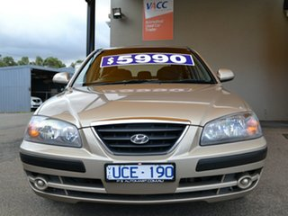 2005 Hyundai Elantra XD MY05 FX Gold 4 Speed Automatic Sedan