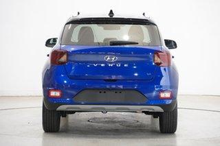 2020 Hyundai Venue QX MY20 Elite Intense Blue 6 Speed Automatic Wagon