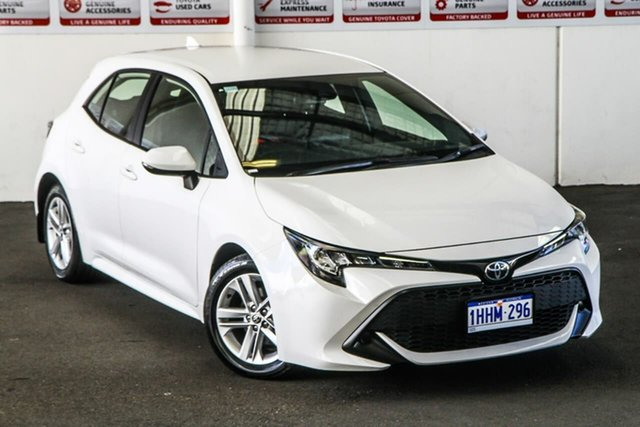 Pre-Owned Toyota Corolla Mzea12R Ascent Sport Rockingham, 2020 Toyota Corolla Mzea12R Ascent Sport Glacier White 10 Speed Constant Variable Hatchback