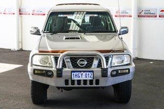 2011 Nissan Patrol GU VII ST (4x4) Silver 4 Speed Automatic Wagon