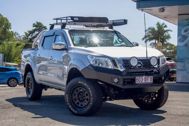 Used Nissan Navara D23 S2 ST Gympie, 2017 Nissan Navara D23 S2 ST Silver 7 Speed Sports Automatic Utility