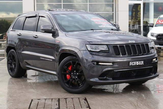 Used Jeep Grand Cherokee WK MY15 SRT Liverpool, 2015 Jeep Grand Cherokee WK MY15 SRT Granite Crystal 8 Speed Sports Automatic Wagon