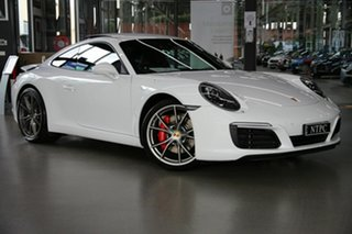 2016 Porsche 911 991 MY17 Carrera S PDK White 7 Speed Sports Automatic Dual Clutch Coupe.