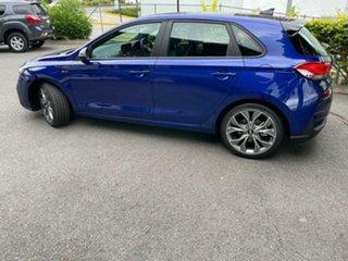 2021 Hyundai i30 PD.V4 MY21 N Line D-CT Premium Intense Blue 7 Speed Sports Automatic Dual Clutch.