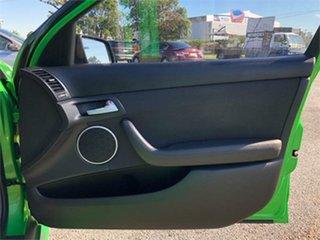 2010 Holden Commodore VE SV6 Green 6 Speed Sports Automatic Sedan