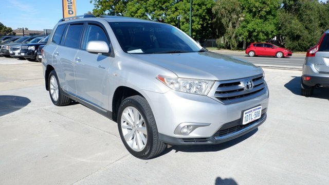 Used Toyota Kluger GSU40R MY11 Grande 2WD St James, 2011 Toyota Kluger GSU40R MY11 Grande 2WD Silver 5 Speed Sports Automatic Wagon