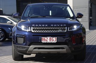 2018 Land Rover Range Rover Evoque L538 MY18 TD4 150 SE Blue 9 Speed Sports Automatic Wagon