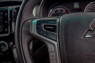 2017 Mitsubishi Triton MQ MY17 GLS Double Cab Silver 6 Speed Manual Utility