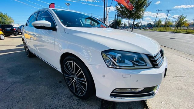 Used Volkswagen Passat Type 3C MY14.5 130TDI DSG Highline Maidstone, 2014 Volkswagen Passat Type 3C MY14.5 130TDI DSG Highline White 6 Speed Sports Automatic Dual Clutch