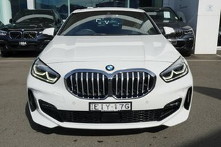 2020 BMW 118i F40 M Sport Alpine White 7 Speed Auto Dual Clutch Hatchback