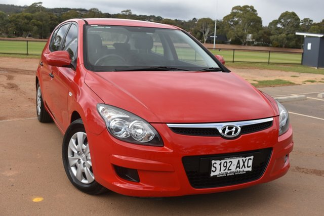 Used Hyundai i30 FD MY11 SX St Marys, 2011 Hyundai i30 FD MY11 SX Red 4 Speed Automatic Hatchback