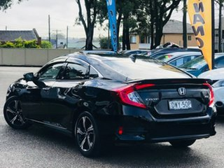 2018 Honda Civic 10th Gen MY18 RS Black 1 Speed Constant Variable Sedan.