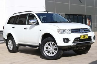 2013 Mitsubishi Challenger PC (KH) MY14 LS White 5 Speed Sports Automatic Wagon.
