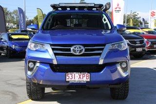 2016 Toyota Fortuner GUN156R GXL Blue 6 Speed Automatic Wagon