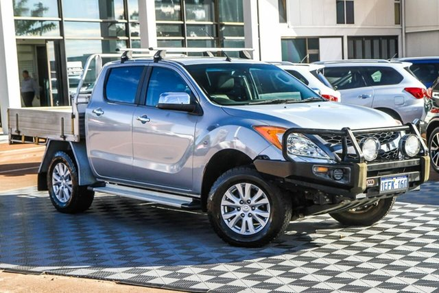Used Mazda BT-50 UP0YF1 GT Attadale, 2013 Mazda BT-50 UP0YF1 GT Silver 6 Speed Sports Automatic Utility